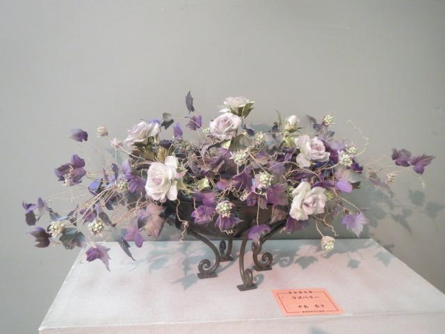 ラズベリーと薔薇.JPG