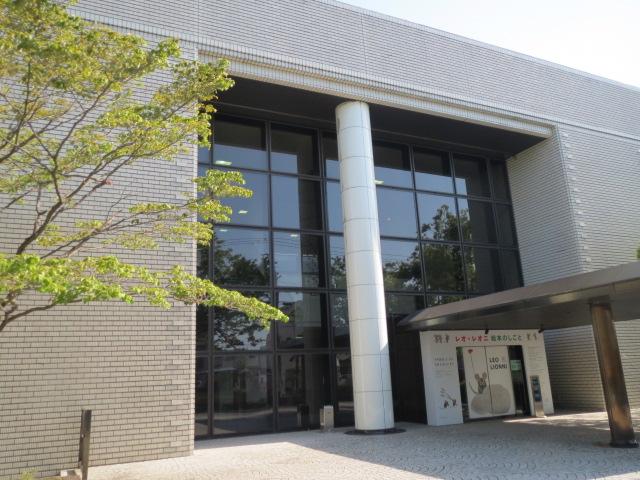 刈谷美術館・レオレオニ絵本の仕事展.JPG