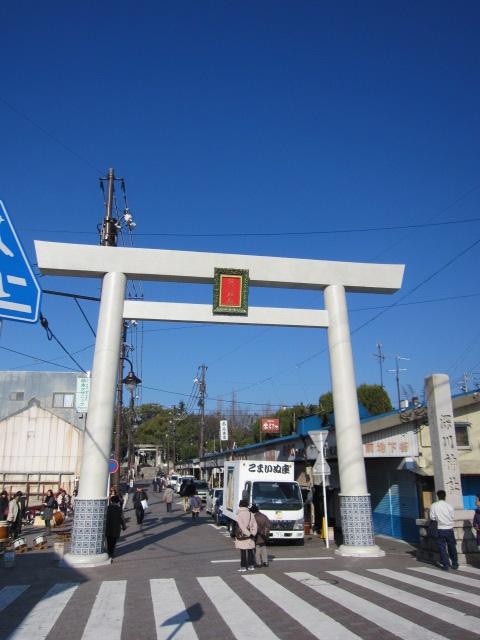 深川神社1の鳥居.JPG